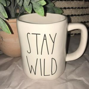 Rae Dunn STAY WILD Mug *NWT*